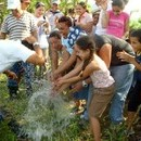 LIFO Missions: Llego el agua! The happiest moment. 2009
